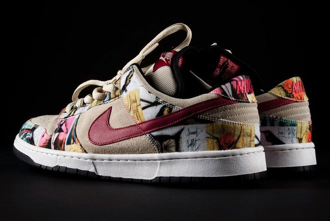 Nike Sb Dunk Paris Three Quarter Laterla Heel Shot