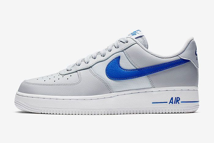 Nike Air Force 1 Low Grey Blue Left