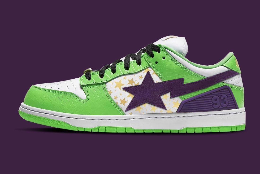 Nike SB Dunk BAPE SK8 STA Mashup