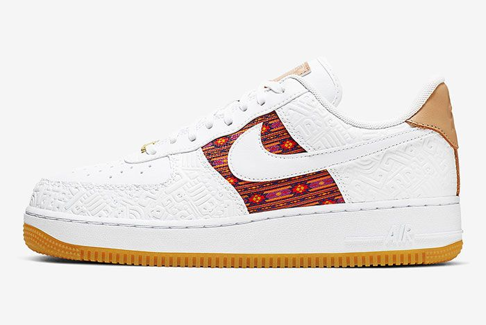 Nike Air Force 1 Aztec Ck6601 100 1 Side