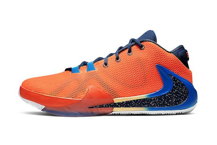 Nike Zoom Freak 1 Total Orange Bq5422 800 Release Date Lateral