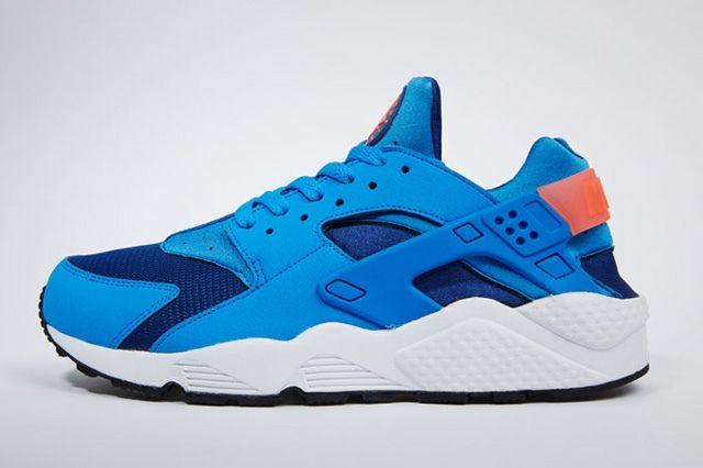Nike Air Huarache Gym Blue Mango 7