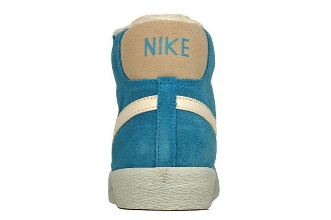 Nike Vntg Blazer Suede Blue Heel Profile 1
