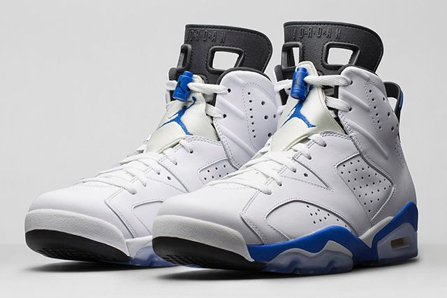 Air Jordan 6 Sport Blue 5