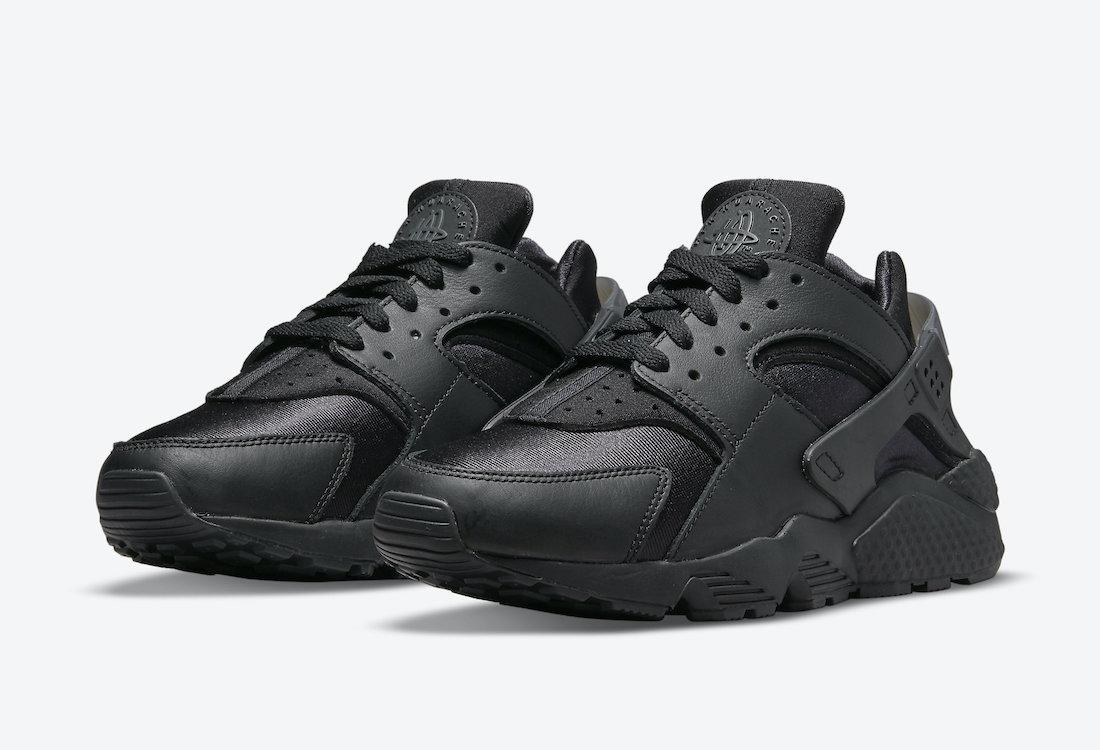 Nike Air Huarache Triple Black 2021 DH4439-001