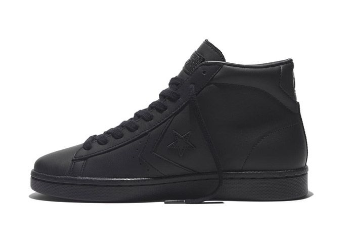Converse Pro Leather 76 Mono High Black 2