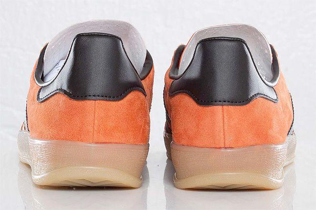 Orange Adidas Gazelle Indoor Back 1