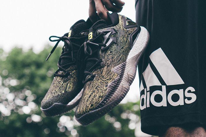 Adidas James Harden Crazylight 2016 Pe Gold Standard