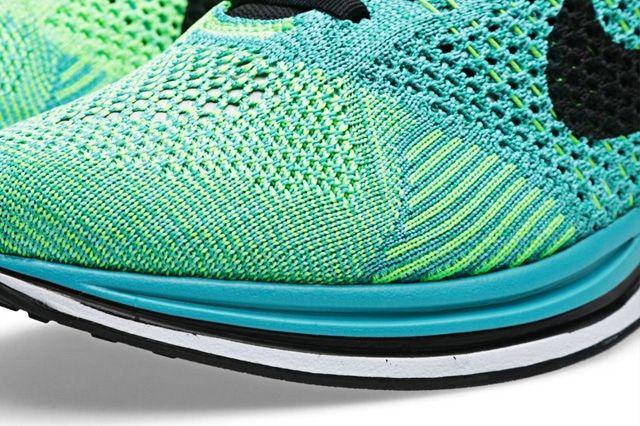Nike Flyknit Racer Sport Turquoise 2