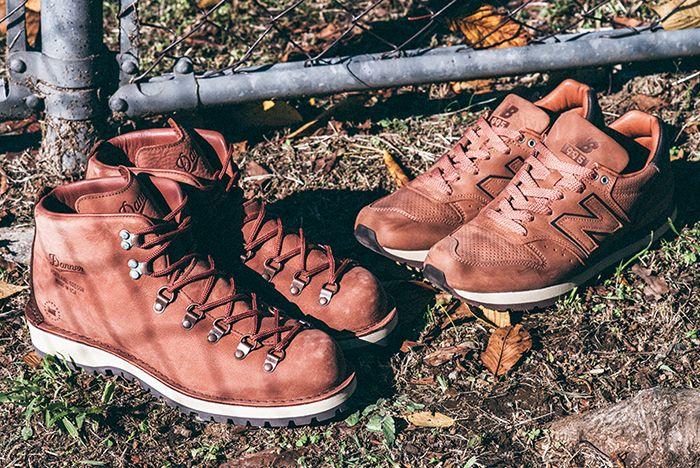 Danner X New Balance American Pioneer Collection Sneaker Freaker 1