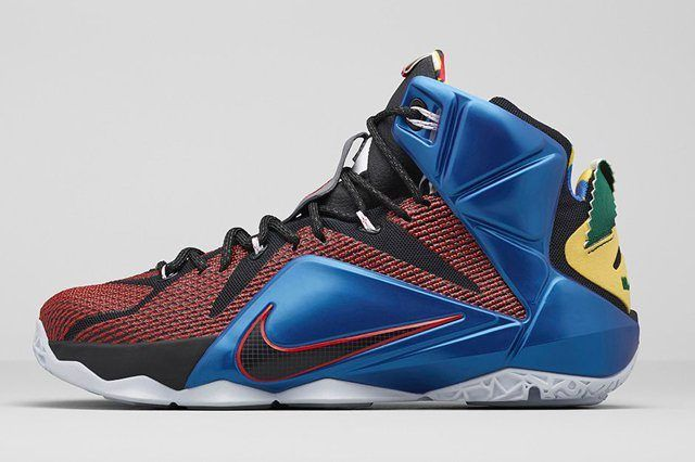 Nike Lebron 12 What The 4