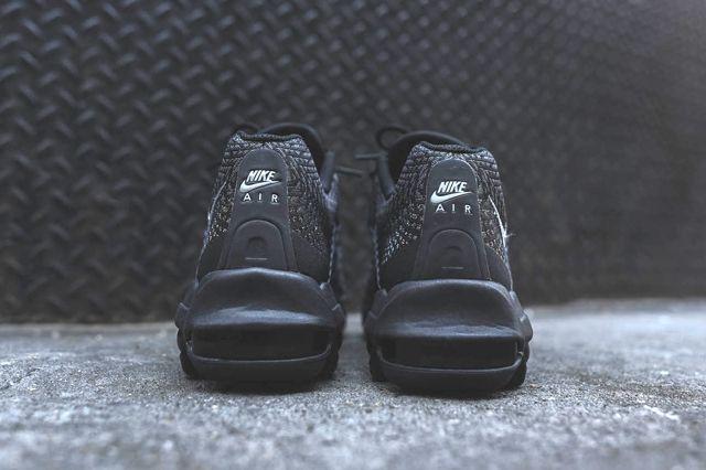 Nike Am95 Jacquard Black Grey Bumper 1