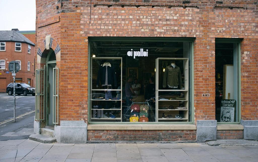 Oi Polloi Shop Front