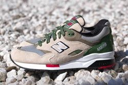 New Balance Elite 1600 Green Red Thumb