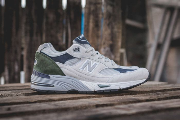 New Balance 991 Wgn Made In England Grey 8