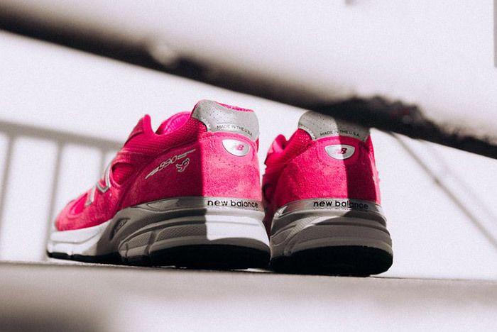 New Balance 990 V4 Komen Pink 2