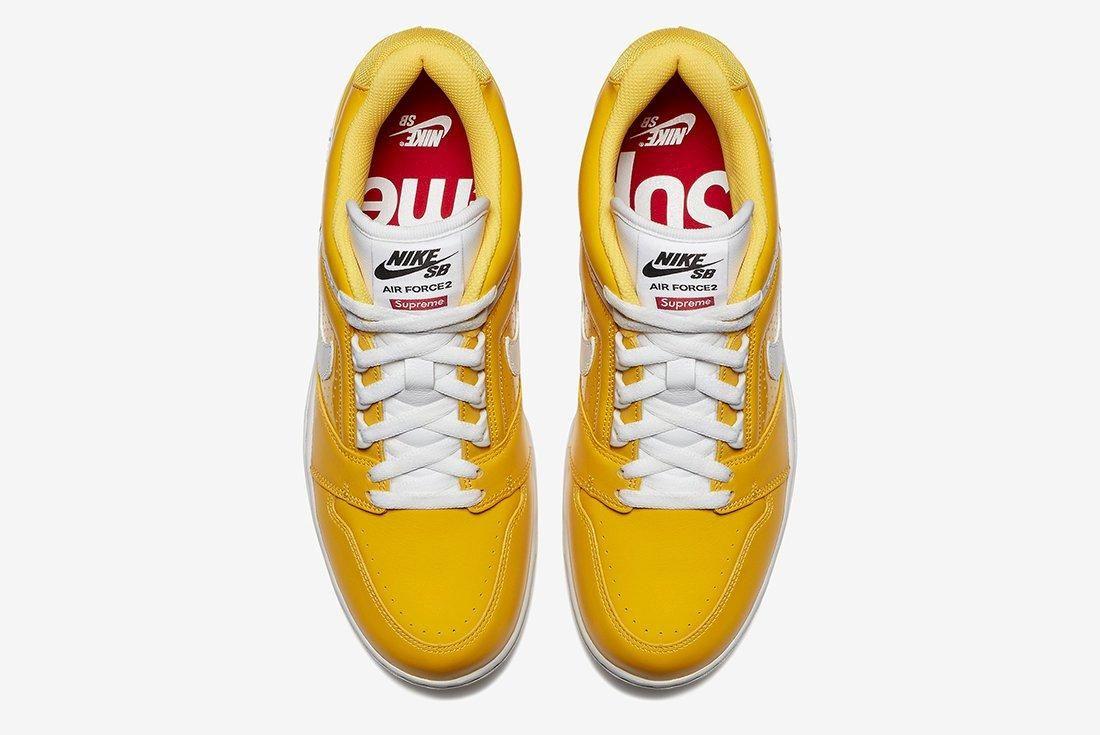 Supreme X Nike Air Force 2 16