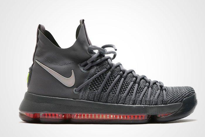 Nike Zoom Kd 9 Elite Grey Thumb