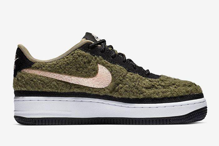 Nike Air Force 1 Low Shearling Av6673 300 4