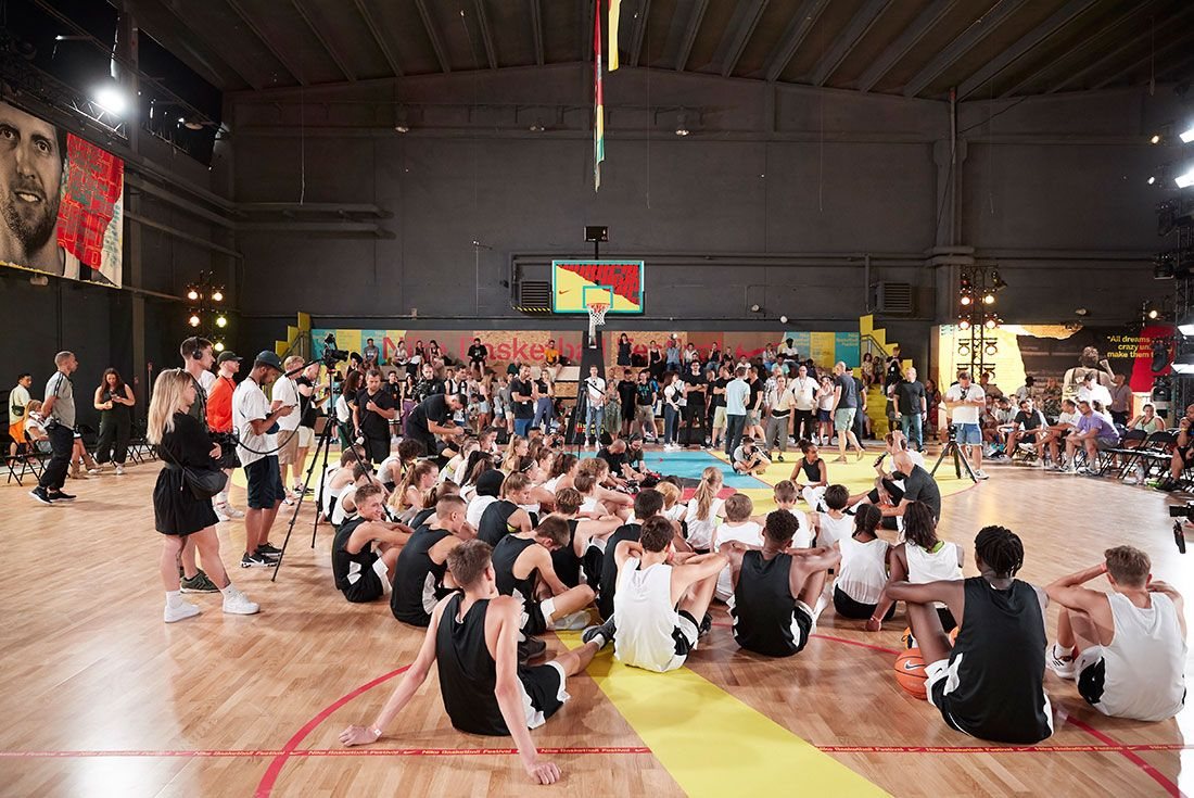 Nike Basketball Festival Event Getty16