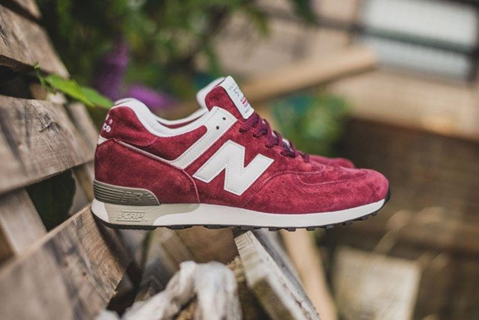 New Balance Made In England 576 Burgundy 4