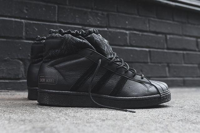 Adidas Y 3 Snow Model Mid Triple Black2