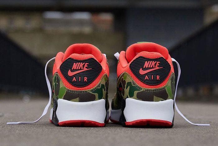 Nike Air Max 90 Duck Camo Back