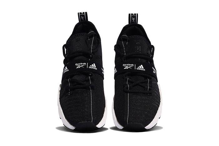Adidas Reebok Sole Fury Boost Black White Fw0168 Release Date Top Down