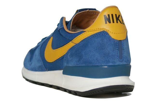Nike Air Solstice Blue Heel Quarter 1