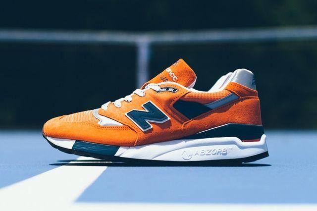 New Balance 998 Orange Navy 1