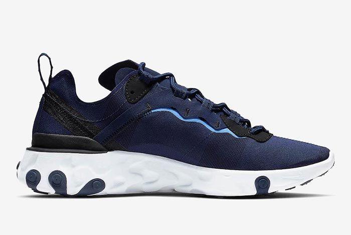 Nike React Element 55 Carolina Blue 2