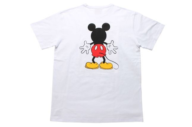 Mouse On Both  Sides Back White 1