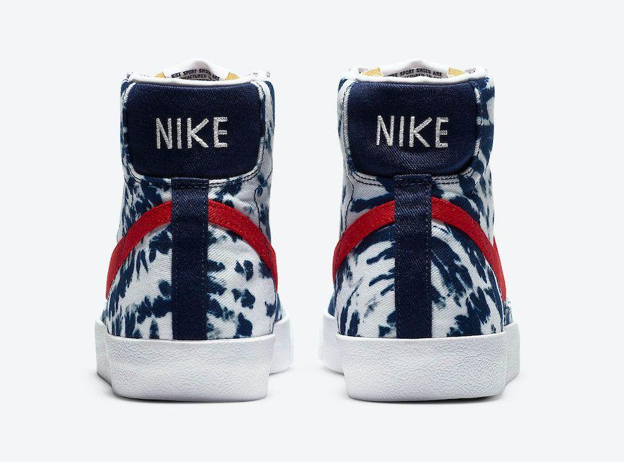 Nike Blazer Mid Tie Dye Heel