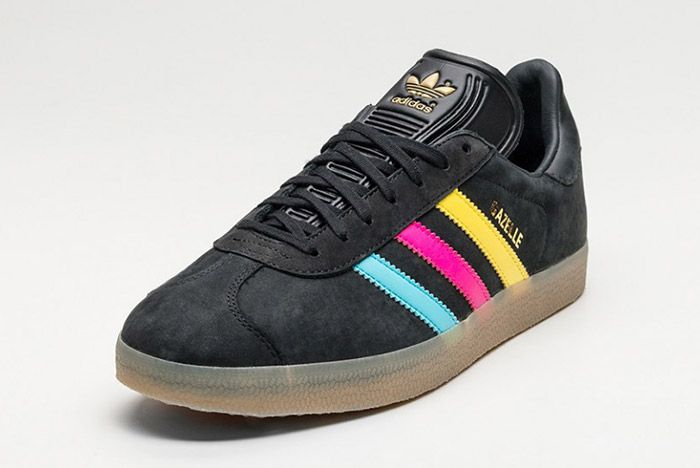 Adidas Gazelle Core Black Colour Stripe 2