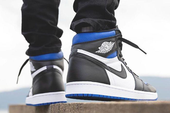 Air Jordan 1 Game Royal Toe Heel