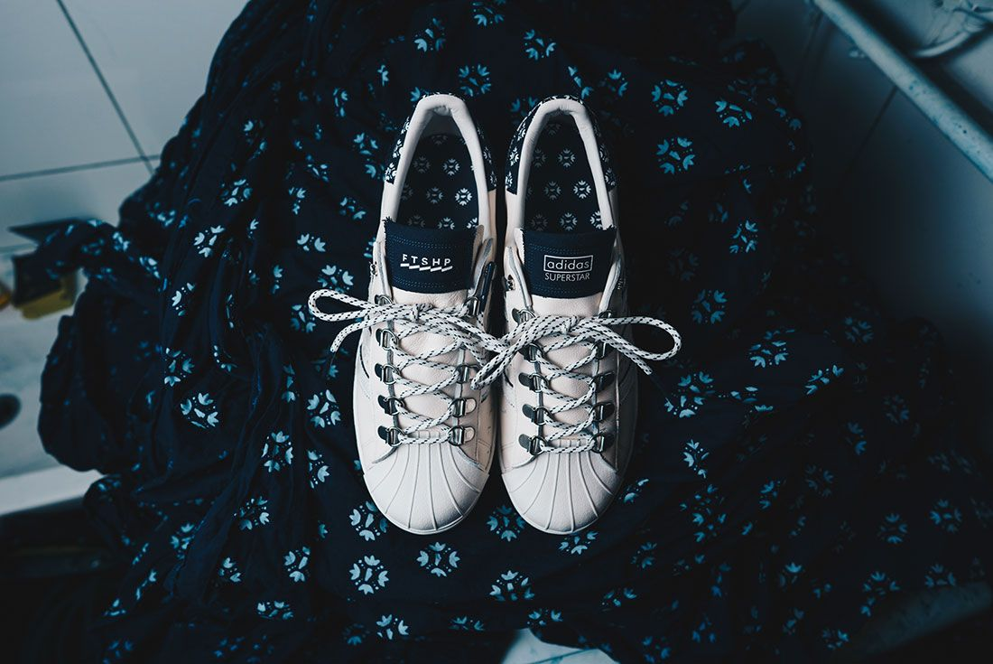 Footshop x adidas Superstar Blueprinting Q46492
