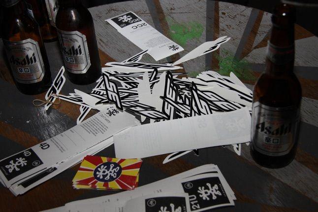 Stickers Asahi 1