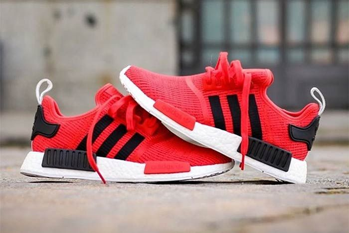 Adidas Nmd R1 Core Red 3