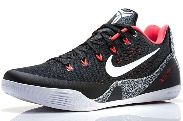 Nike Kobe 9 Em Black Red 3