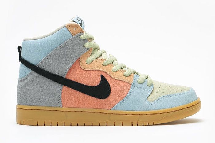 Nike Sb Dunk High Easter Spectrum Cn8345 001 Release Date 1 On White