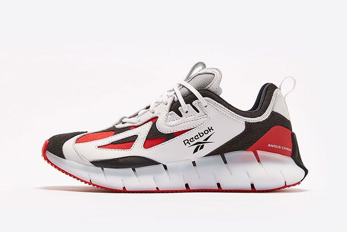 Angus Chiang Reebok Zig Red Lateral