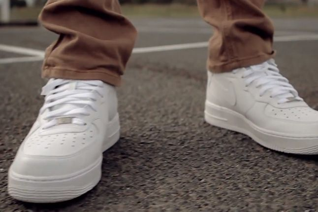 Nike The Ones Air Force One White On White 1