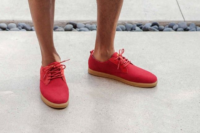 Clae Spring Collection Ellington Ruby Red 1