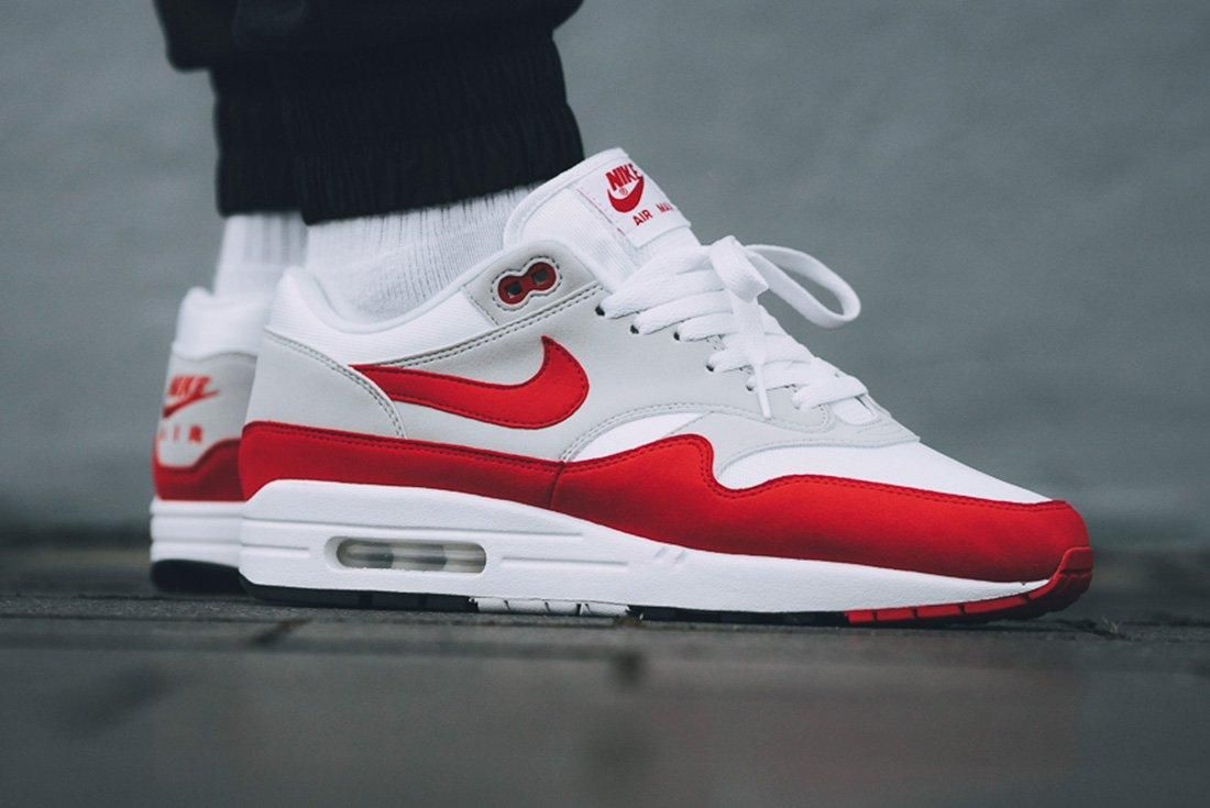 Nike Air Max 1 Red University Red 7