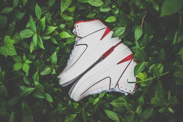 Air Jordan 2 Varsity Red Drop Bump 1