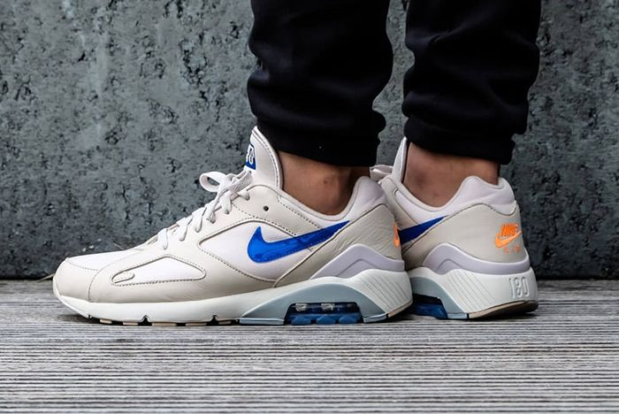 Nike Air Max 180 Racer Blue Tonal Orange 1 Sneaker Freaker