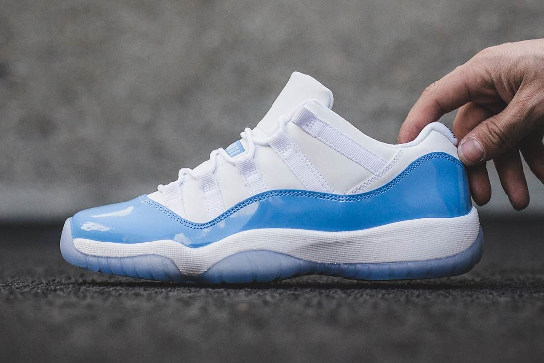 Air Jordan 11 Low University Blue 4 2