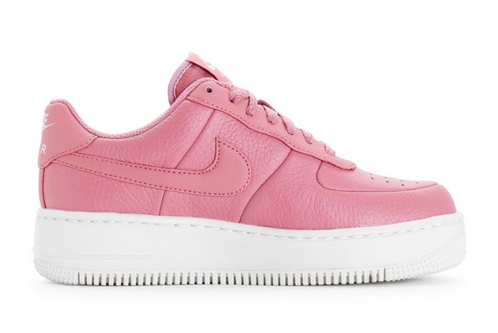 Nike Wmns Air Force 1 Upstep Red Stardust