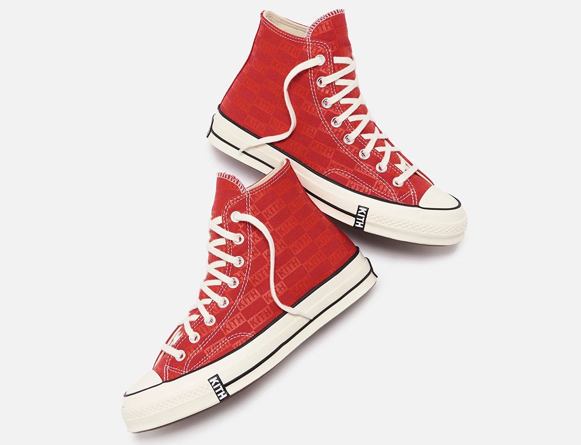 Kith Converse Chuck 70 Red 4 1 Official