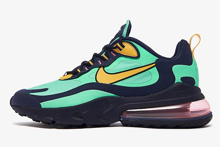 Nike Air Max 270 React Electro Green Ao4971 300 Lateral